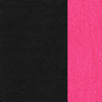 Black with Pink